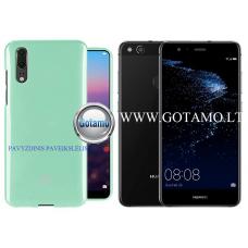 Mercury Jelly dėklas nugarėlė Huawei P10 Lite telefonui mėtinės spalvos Vilnius | Šiauliai | Telšiai