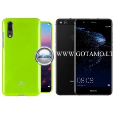 Mercury Jelly dėklas nugarėlė Huawei P10 Lite telefonui salotinės spalvos Telšiai | Šiauliai | Klaipėda