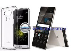 Mercury Jelly dėklas nugarėlė Huawei P8 Lite telefonui skaidrus
