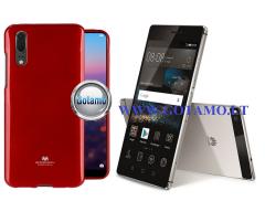 Mercury Jelly dėklas nugarėlė Huawei P8 telefonui raudonos spalvos