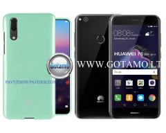 Mercury Jelly dėklas nugarėlė Huawei P9 Lite (2017) telefonui mėtinės spalvos