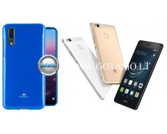 Mercury Jelly dėklas nugarėlė Huawei P9 Lite telefonui mėlynos spalvos