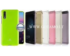 Mercury Jelly dėklas nugarėlė Huawei P9 telefonui salotinės spalvos