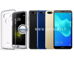 Mercury Jelly dėklas nugarėlė Huawei Y5 (2018) Huawei Honor 7S telefonui skaidrus