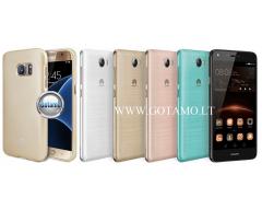 Mercury Jelly dėklas nugarėlė Huawei Y5II telefonui aukso spalvos