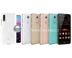 Mercury Jelly dėklas nugarėlė Huawei Y5II telefonui baltos spalvos
