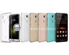 Mercury Jelly dėklas nugarėlė Huawei Y5II telefonui skaidrus