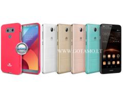 Mercury Jelly dėklas nugarėlė Huawei Y5II telefonui tamsiai rožinės spalvos