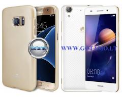 Mercury Jelly dėklas nugarėlė Huawei Y6II telefonui aukso spalvos