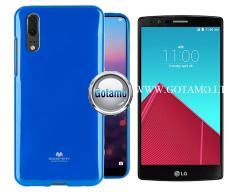 Mercury Jelly dėklas nugarėlė LG G4 telefonui mėlynos spalvos