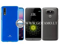 Mercury Jelly dėklas nugarėlė LG G5 telefonui mėlynos spalvos