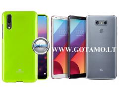Mercury Jelly dėklas nugarėlė LG G6 telefonui salotinės spalvos