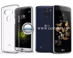 Mercury Jelly dėklas nugarėlė LG K8 telefonui skaidrus