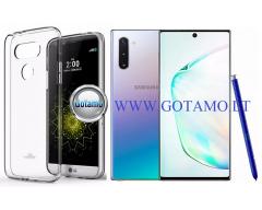 Mercury Jelly dėklas nugarėlė Samsung Galaxy Note 10 telefonui skaidrus