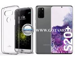 Mercury Jelly dėklas nugarėlė Samsung Galaxy S20 Ultra telefonui skaidrus