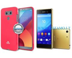 Mercury Jelly dėklas nugarėlė Sony Xperia M5 telefonui rožinės spalvos