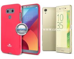 Mercury Jelly dėklas nugarėlė Sony Xperia X telefonui rožinės spalvos