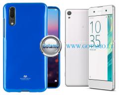 Mercury Jelly dėklas nugarėlė Sony Xperia XA telefonui mėlynos spalvos