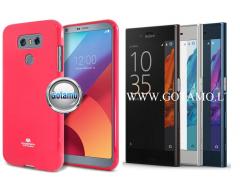 Mercury Jelly dėklas nugarėlė Sony Xperia XZ, Sony Xperia XZs telefonui rožinės spalvos