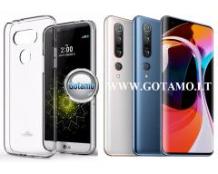 Mercury Jelly dėklas nugarėlė Xiaomi Mi 10, Xiaomi Mi 10 Pro telefonui skaidrus