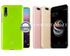 Mercury Jelly dėklas nugarėlė Xiaomi Mi A1 Xiaomi Mi 5X telefonui salotinės spalvos