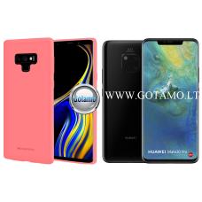 Mercury Soft Feeling dėklas nugarėlė Huawei Mate 20 Pro telefonui rožinės spalvos Klaipėda | Telšiai | Šiauliai