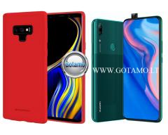 Mercury Soft Feeling dėklas nugarėlė Huawei P Smart Z Huawei Y9 (2019) telefonui raudonos spalvos