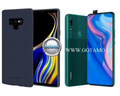 Mercury Soft Feeling dėklas nugarėlė Huawei P Smart Z Huawei Y9 (2019) telefonui tamsiai mėlynos spalvos