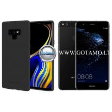 Mercury Soft Feeling dėklas nugarėlė Huawei P10 Lite telefonui juodos spalvos Kaunas | Plungė | Plungė