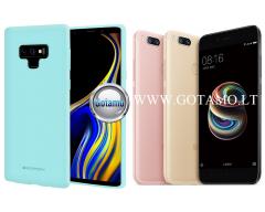 Mercury Soft Feeling dėklas nugarėlė Xiaomi Mi A1 Xiaomi Mi 5X telefonui mėtinės spalvos