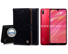 Odyssey dėklas Huawei Y7 (2019) telefonams juodos spalvos