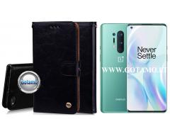 Odyssey dėklas OnePlus 8 Pro telefonams juodos spalvos
