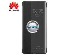 Originalus Huawei P40 Smart View Flip Cover dėklas juodos spalvos