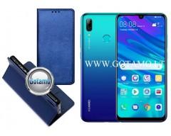 Re-Grid magnetinis dėklas Huawei P Smart (2019) telefonams mėlynos spalvos