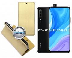 Re-Grid magnetinis dėklas Huawei P Smart Pro (2019) Huawei Y9 Prime telefonams aukso spalvos