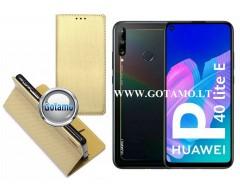 Re-Grid magnetinis dėklas Huawei P40 Lite E, Huawei Y7P mobiliesiems telefonams aukso spalvos
