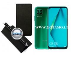 Re-Grid magnetinis dėklas Huawei P40 Lite telefonams juodos spalvos