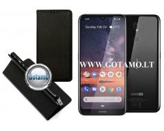 Re-Grid magnetinis dėklas Nokia 3.2 mobiliesiems telefonams juodos spalvos