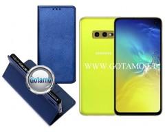 Re-Grid magnetinis dėklas Samsung Galaxy S10e telefonams mėlynos spalvos