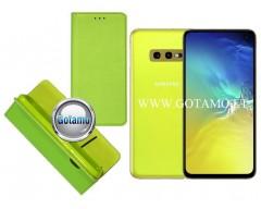 Re-Grid magnetinis dėklas Samsung Galaxy S10e telefonams salotinės spalvos