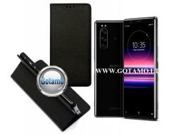 Re-Grid magnetinis dėklas Sony Xperia 5 telefonams juodos spalvos