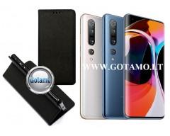 Re-Grid magnetinis dėklas Xiaomi Mi 10, Xiaomi Mi 10 Pro telefonams juodos spalvos