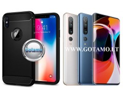 Siege dėklas nugarėlė Xiaomi Mi 10, Xiaomi Mi 10 Pro mobiliesiems telefonams juodos spalvos