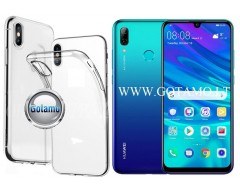 Skin silikoninis dėklas 2MM storio Huawei P Smart (2019) telefonams