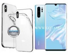 Skin silikoninis dėklas 2MM storio Huawei P30 Pro telefonams