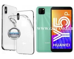 Skin silikoninis dėklas 2MM storio Huawei Y5p telefonams