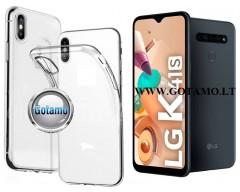Skin silikoninis dėklas 2MM storio LG K41S telefonams