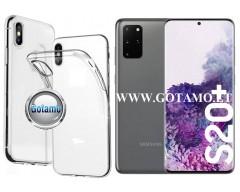 Skin silikoninis dėklas 2MM storio Samsung Galaxy S20+ telefonams