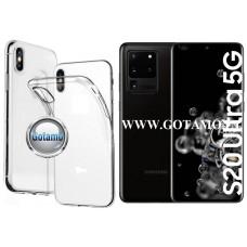 Skin silikoninis dėklas 2MM storio Samsung Galaxy S20 Ultra telefonams Šiauliai | Klaipėda | Vilnius
