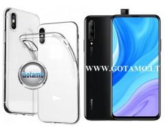 Skin silikoninis dėklas Huawei P Smart Pro (2019) Huawei Y9 Prime telefonui